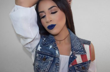 RED, WHITE & BLUE 4th Of July (Patriotic Makeup)