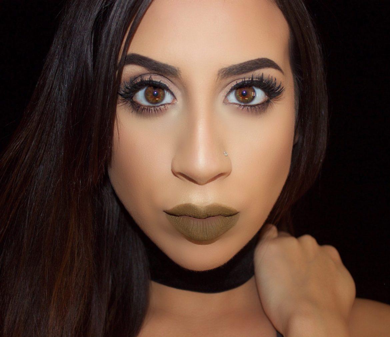 Army Green Liquid Lipstick (Trouble)