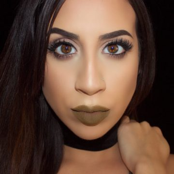 Army Green Liquid Lipstick (Trouble)