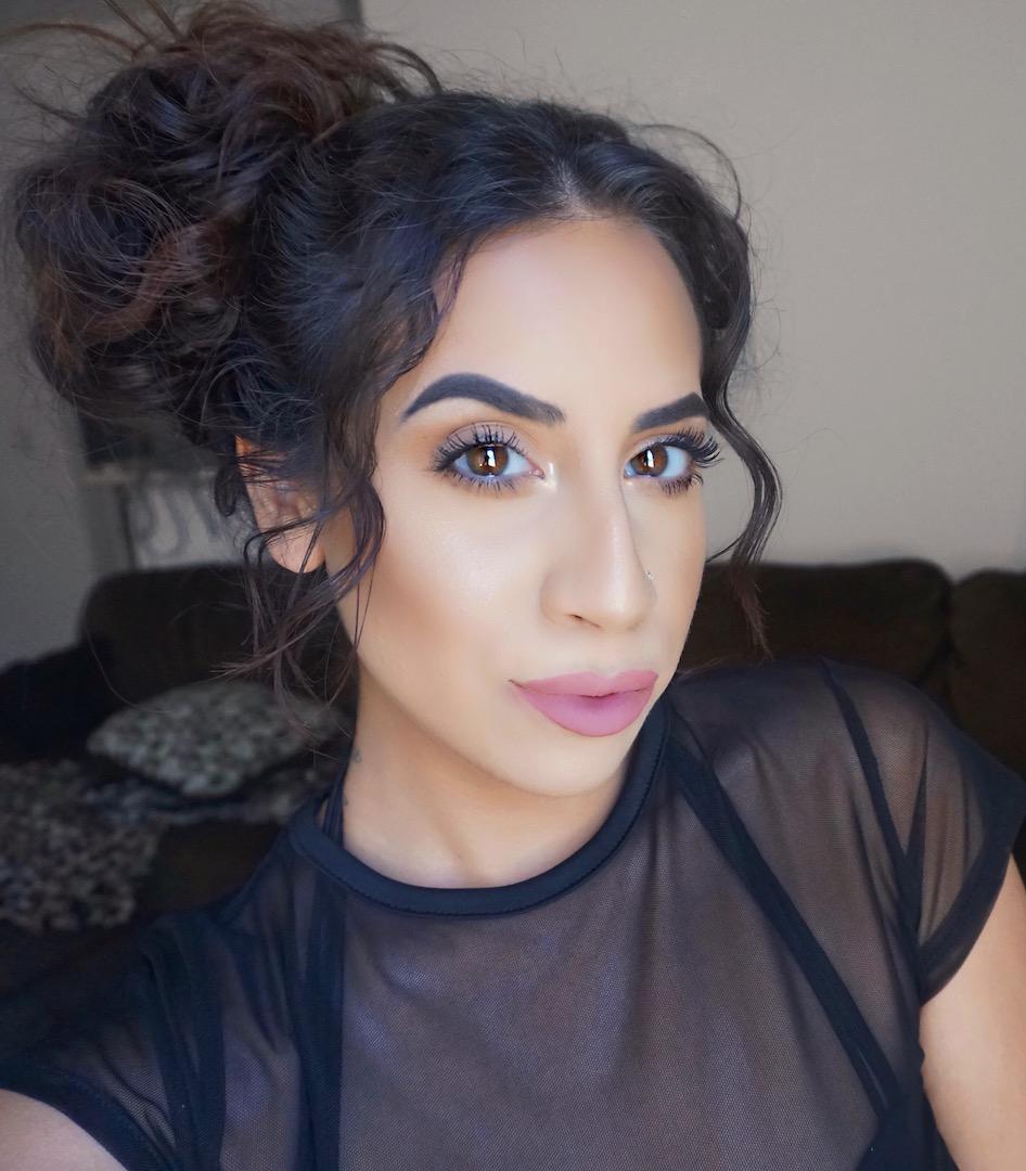 Everyday Soft Orange Eye Makeup
