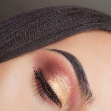 Smokey Reddish Gold Eyeshadow (My Little Pony Makeup Collection Pür Cosmetics)