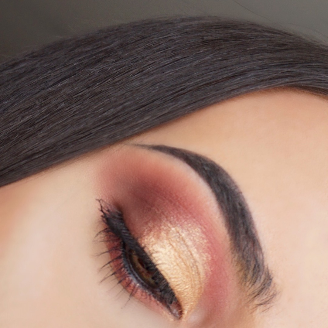 Smokey Reddish Gold Eyeshadow (My Little Pony Makeup Collection Pür Cosmetics)