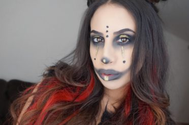 Gothic Clown Halloween Makeup 2017