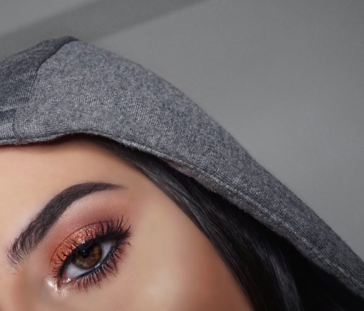 Best Classic Shimmer Copper Eyeshadow Makeup (Thanksgiving Fall Makeup)