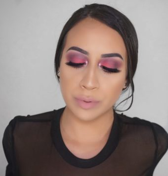 Two In One Valentines Day Makeup Look