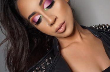 Colorful Cut Crease Eyeshadow – Life's A Drag – Lunar Beauty