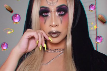 Fortuneteller Witch Halloween Makeup