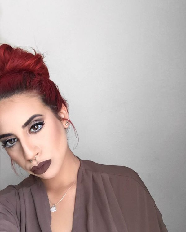 Bold Brown Lip