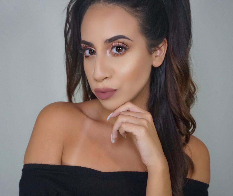 Bronzy Mauve Makeup