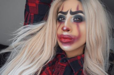 Grungy Gangster Pennywise Makeup/ IT Halloween Makeup 2017