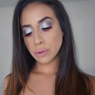 Metallic Silver Eyeshadow