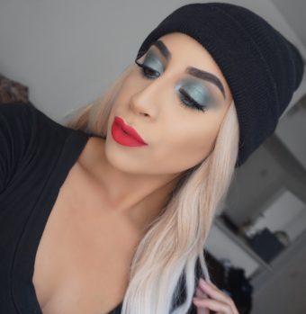 Green Holiday Eyeshadow Makeup Tutorial (Only 2 Shadows)