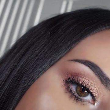 Rose Gold Eyeshadow Makeup