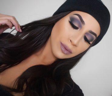 Cool Toned Smokey Eyeshadow Makeup Tutorial (Using ONLY 2 Eyeshadows)