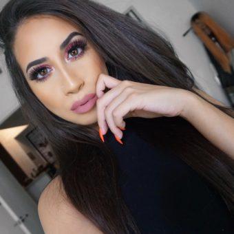 Easiest Bold Hot Pink Eyeshadow Makeup